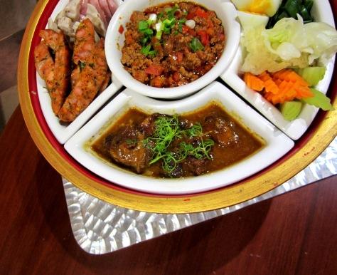 Nacha's Northern Thai set menu is its most popular