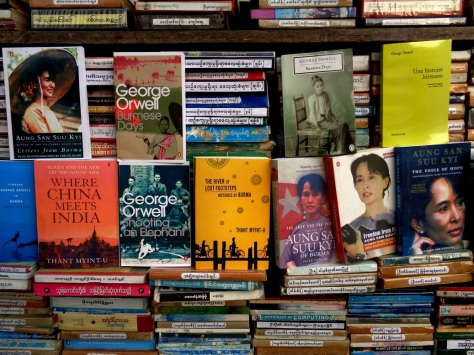 You won't be starved for choice when it comes to books about Myanmar