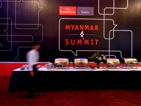 The Myanmar Summit was held at The Strand in Yangon on May 15