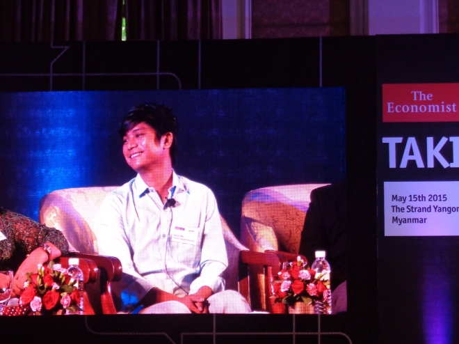 Panelist Nay Chi Win