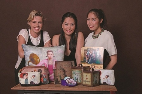 The Yangoods team comprises Delphine de Lorme, Clara Baik and Htin Htin