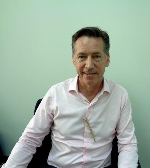 Ophir's senior adviser in Myanmar, Andrew Chapman