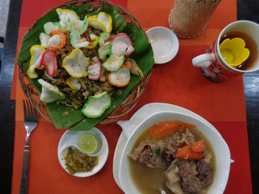 Hearty Indonesian fare