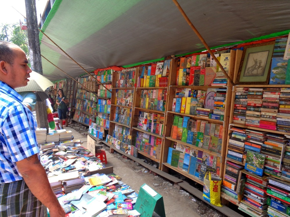 Myanmar's book trade on the up but challenges persist: publisher (2/3)