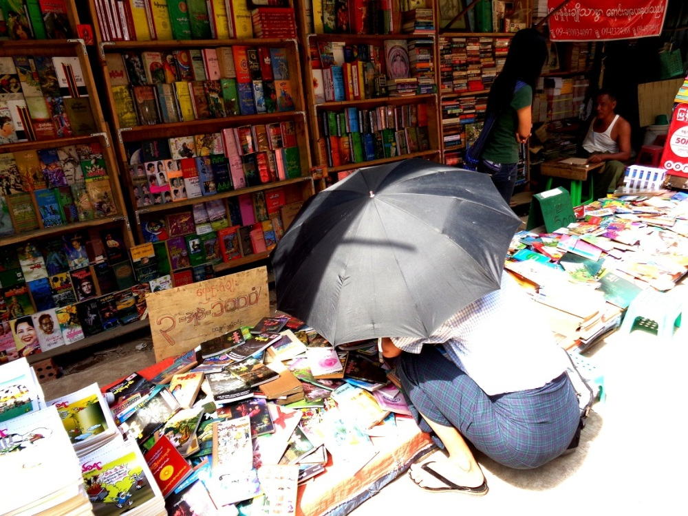 Myanmar's book trade on the up but challenges persist: publisher (3/3)