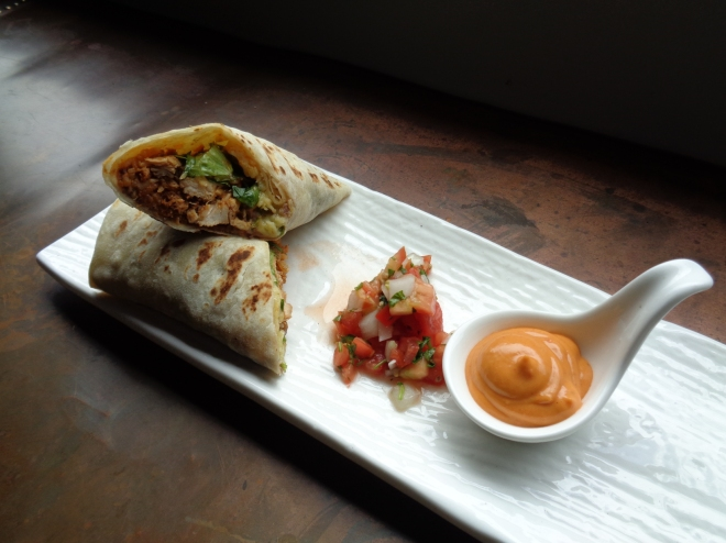 Top marks for presentation - the burrito compadre