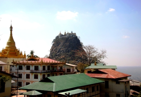 Mt Popa - how is it even possible?!