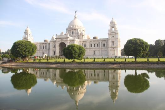 The Victoria Memorial in Kolkata, which was the capital of the British Indian empire - including Burma - until 1911. Photo - Jessica Mudditt