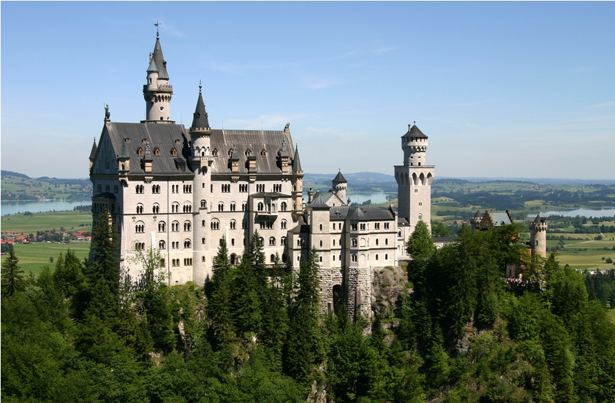 One of Bavaria's stunning castles – though not one inhabited by Prince Luitpold. Photo : Wikicommons
