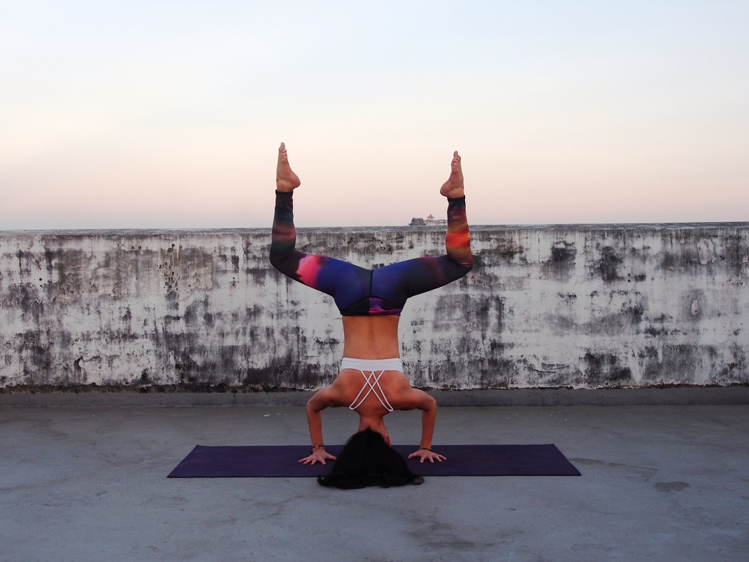 Impressive! Photo supplied by Yangon Yoga House