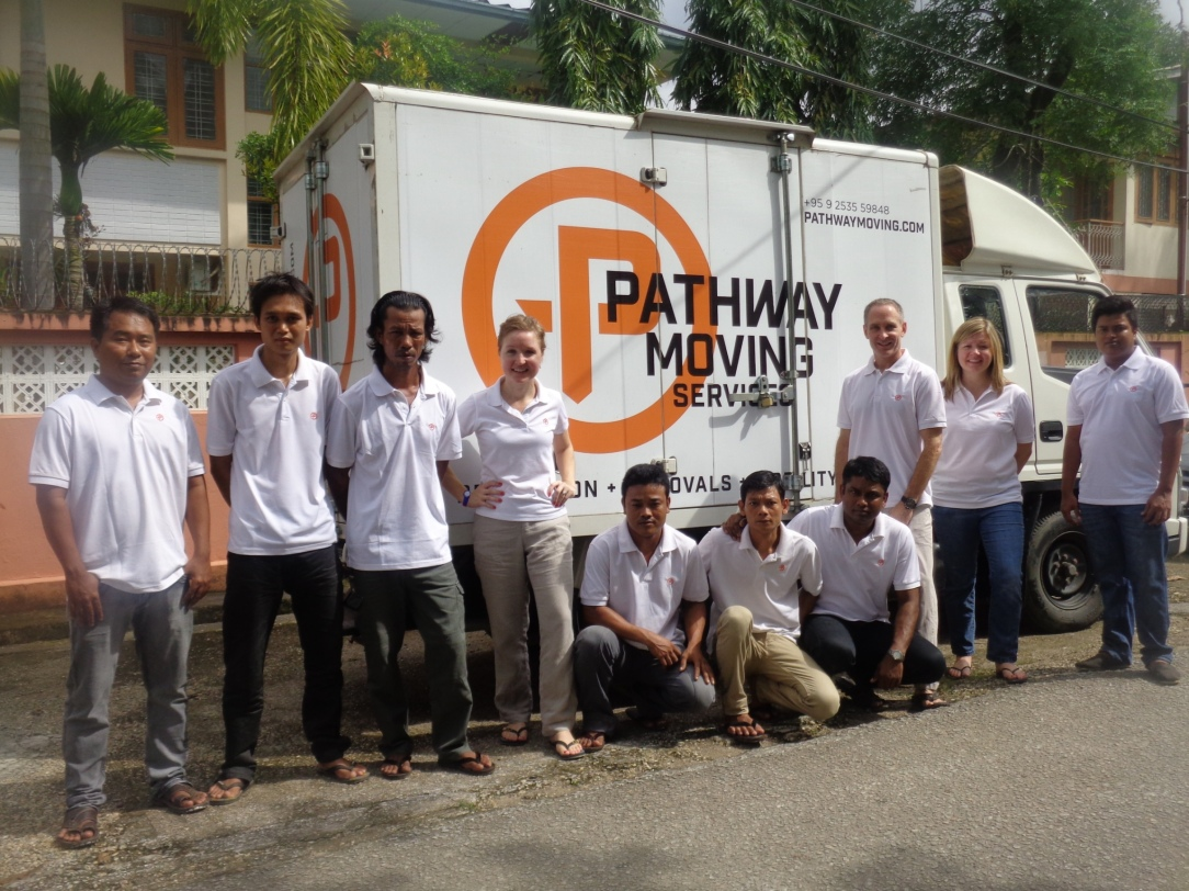The Pathway Moving Services team