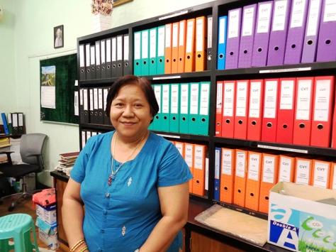 CVT Director Daw Yin Yin Aye