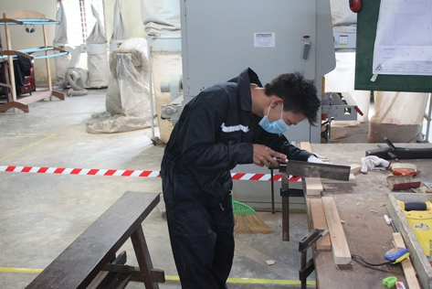 Photo supplied by the Centre for Vocational Training
