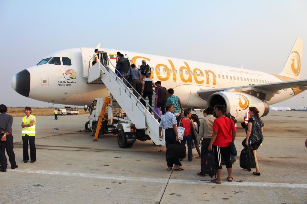 Mandalay International Airport. Photo: Sherpa Hossainy