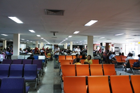 Mandalay's airport terminal. Photo: Sherpa Hossainy
