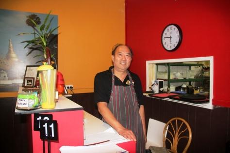 Sunny at Sun's Burmese Kitchen